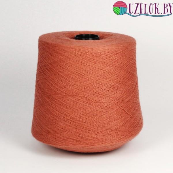 50% хлопок  50% меринос  арт. TAHITI пр-ль Botto Giuseppe  2/48   2400м/100г   цвет розовой глины
